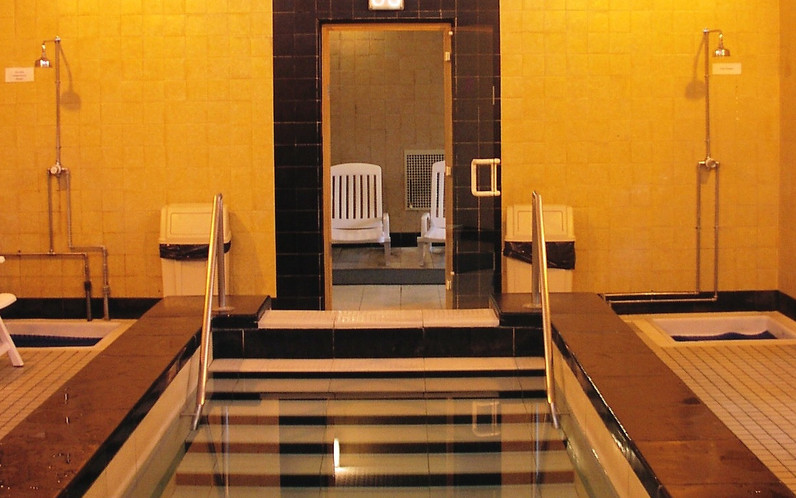Plunge pool at Mounts Baths healthsuite