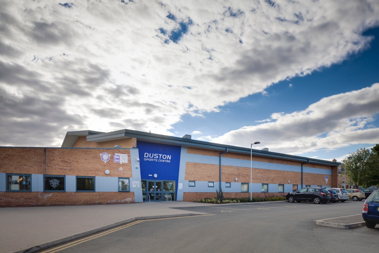 Outside of Duston Sports Centre